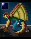 Weredragon Commission by KZmaster by V8Arwing67