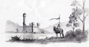 Loch Castle sketch by EthicallyChallenged