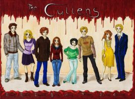 The Cullens by AngelinaCullen