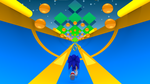 3D Sonic 2 Special Stage by Compsense