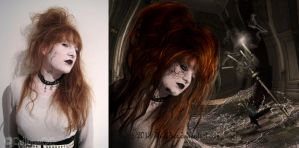 Insanity before and after by SweediesArt