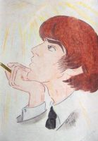 George Harrison by Amaryllex