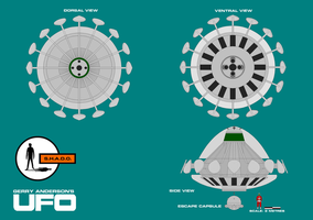 Gerry Andersons UFO Flying Saucer by ArthurTwosheds