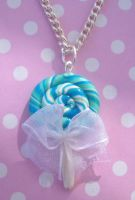 Ocean lollipop necklace by citruscouture