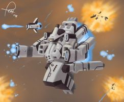 Blessings of an Ion Cannon by pizzacat