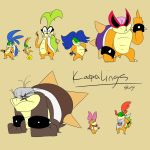Koopalings by Zito-is-Neato