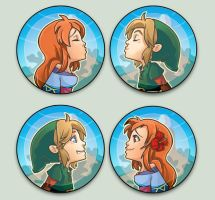 ZeldaOTpins by oneoftwo