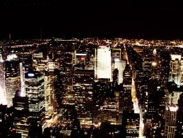 NYC Lights by LyraWhite