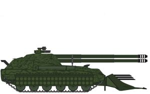 Double Barrel Tank Destroyer by fatty119