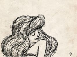 Sketchy Ariel by bealor