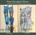Draw This Again Glacier And Cap by RosannexZiggy