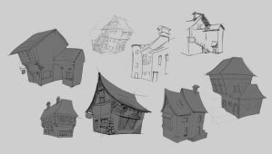 Town-houses by YairMor