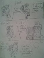 total drama: scott and courtney by partgeek
