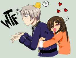 Me and Prussia by P-ChanAndP-Kun