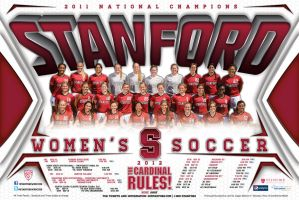 stanford womens soccer by Satansgoalie