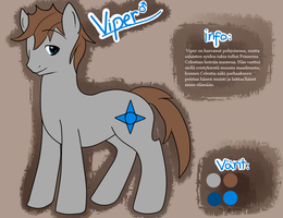 PC: Reference sheet of Viper by Muketti