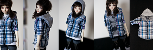 Hooded Shirt (MSD) by KarenBJD