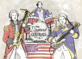 The Disgraced Generals Club Band by jamberry-song