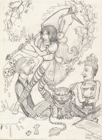Fanart Alice Madness Returns - sketch by JoyNoBara