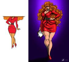 Commission: Ms.Bellum by Osmar-Shotgun