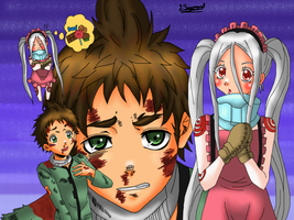 Deadman Wonderland Fanart by JasiChan17