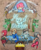 Map of the Past Official Poster by HamSamwich