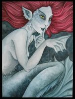 Deep Water Mermaid by Deramis