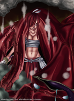 Fairy Tail 371  Erza by thelucasrbp
