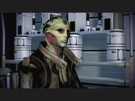 Mass Effect 2 - Thane Krios by Homicide-Crabs