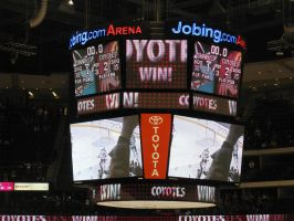 Coyotes Hook Sharks by BigMac1212