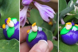 Rayman and the plum by Catigma