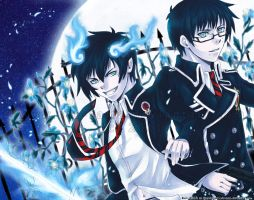 Blue Exorcist by niolynn