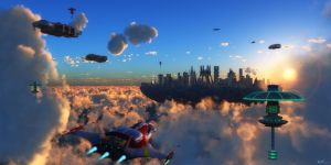 Among the Clouds by Kreegan