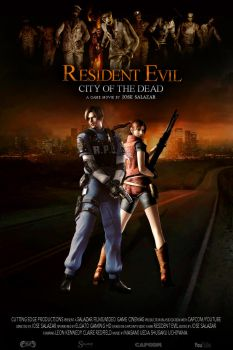 Resident Evil: City of the Dead Official Poster by CuttingEdge93