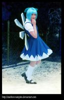 Follow me to Gensokyo _Cirno by StarbowVampire
