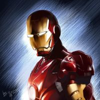 Iron man by sinoaXu