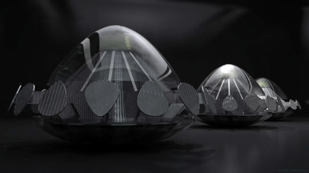 UFOs 2 by axeman3d