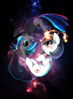 milky way by Poketix