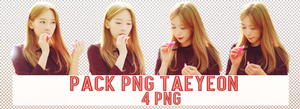 Pack PNG #127: SNSD's TaeYeon by jimikwon2518