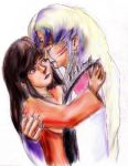 Sesshomaru in Tears by Shizuru-Minamino