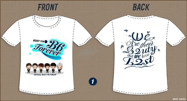 Contest of B2ST-VN by MiHVVN