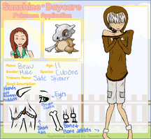 Sunshine Daycare Pokemon: Beau by stantlers