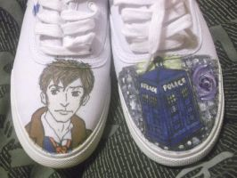Doctor Who Shoe Commission by animenerd22