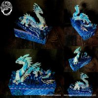 Aquatic Dragon Box - SOLD by SonsationalCreations