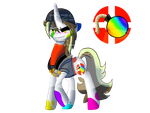 My little TF2: That Colorful Demomare by AmzyTheChangeling
