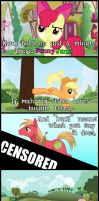 Apple Bloom learns the awful truth by MyLittleSentry