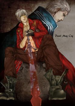 Devil may Cry by onetwothreekicks