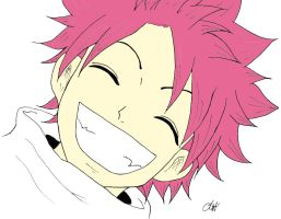 Colored: Smiled Natus Dragneil by sohma0081