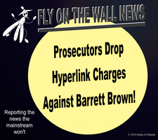 Hyperlink Charges Against Barrett Brown Dropped! by IAmTheUnison