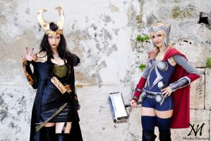 Thor and Loki 2 by Moony-Cosplay